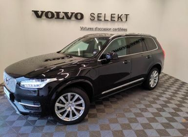 Vente Volvo XC90 T8 Twin Engine 320 + 87ch Inscription Luxe Geartronic 7 places Occasion