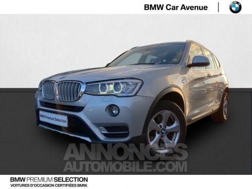 Annonce BMW X3 xDrive20dA 190ch xLine
