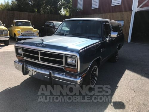 Annonce Dodge Ramcharger 1987
