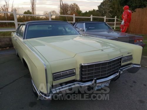 Annonce Lincoln Continental 1972