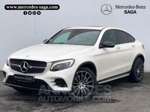Annonce Mercedes GLC Coupe 250 d 204ch Fascination 4Matic 9G-Tronic