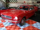 Ford Mustang coupe 1965 Rouge Occasion - 6