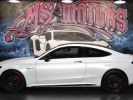 Mercedes Classe C 63 AMG S COUPE 7G-TRONIC BLANC MAT Occasion - 2