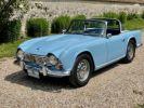 Triumph TR4 de 1963 Roadster Occasion