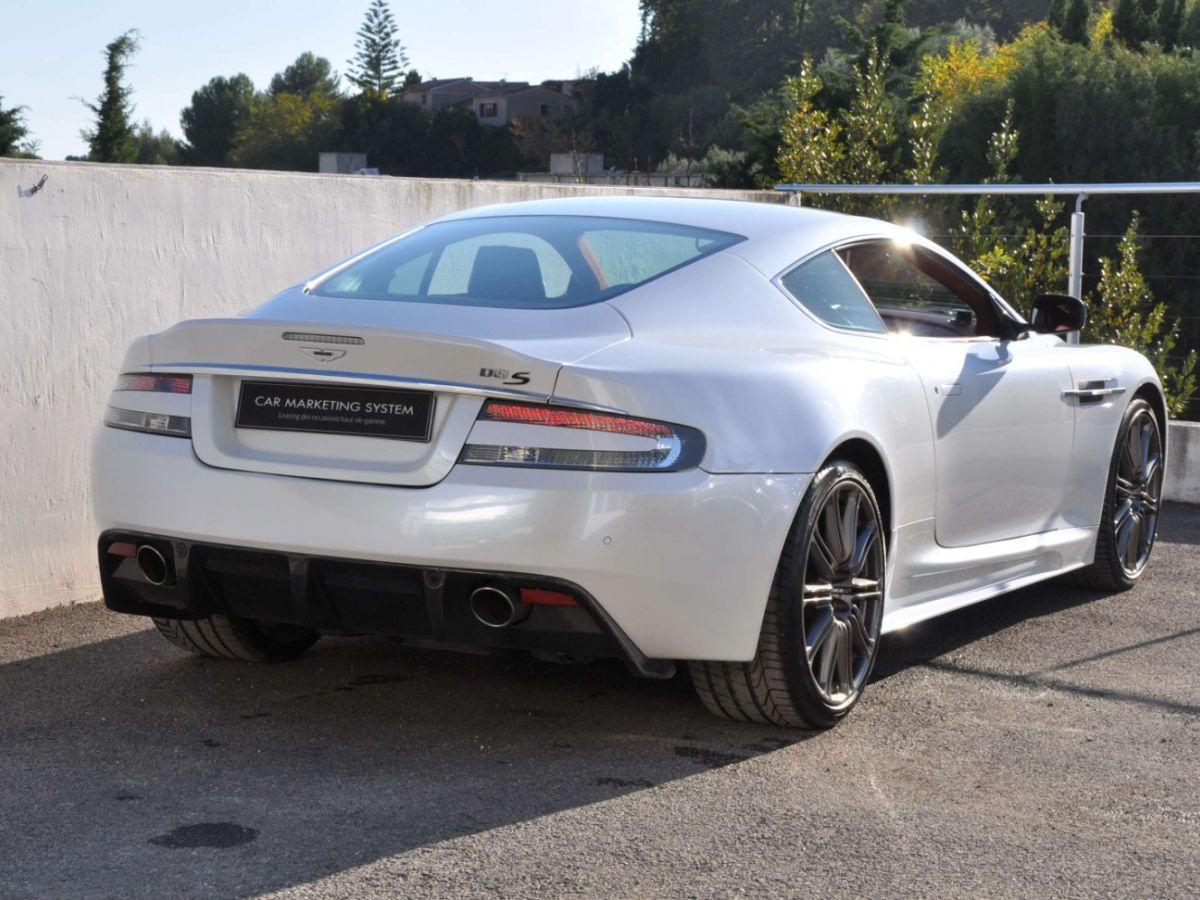 Aston Martin DBS V12 Touchtronic 2+0 Blanc - 7