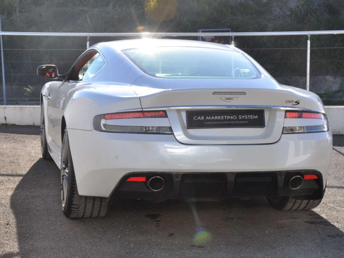 Aston Martin DBS V12 Touchtronic 2+0 Blanc - 6