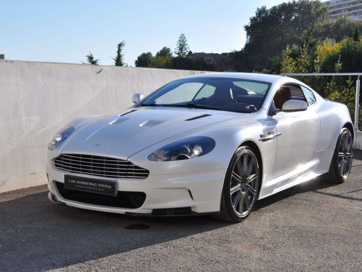 Aston Martin DBS V12 Touchtronic 2+0 Blanc - 1