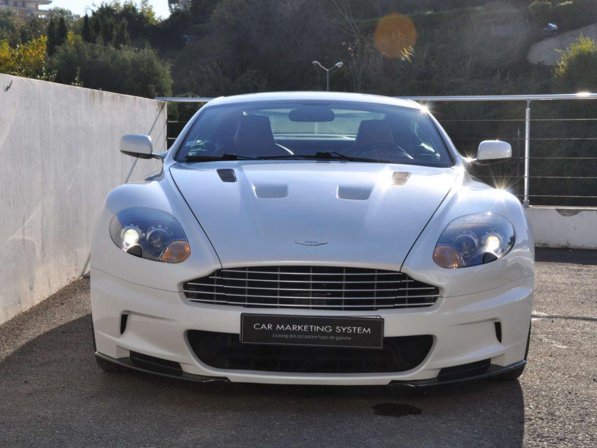 Aston Martin DBS V12 Touchtronic 2+0 Blanc - 2