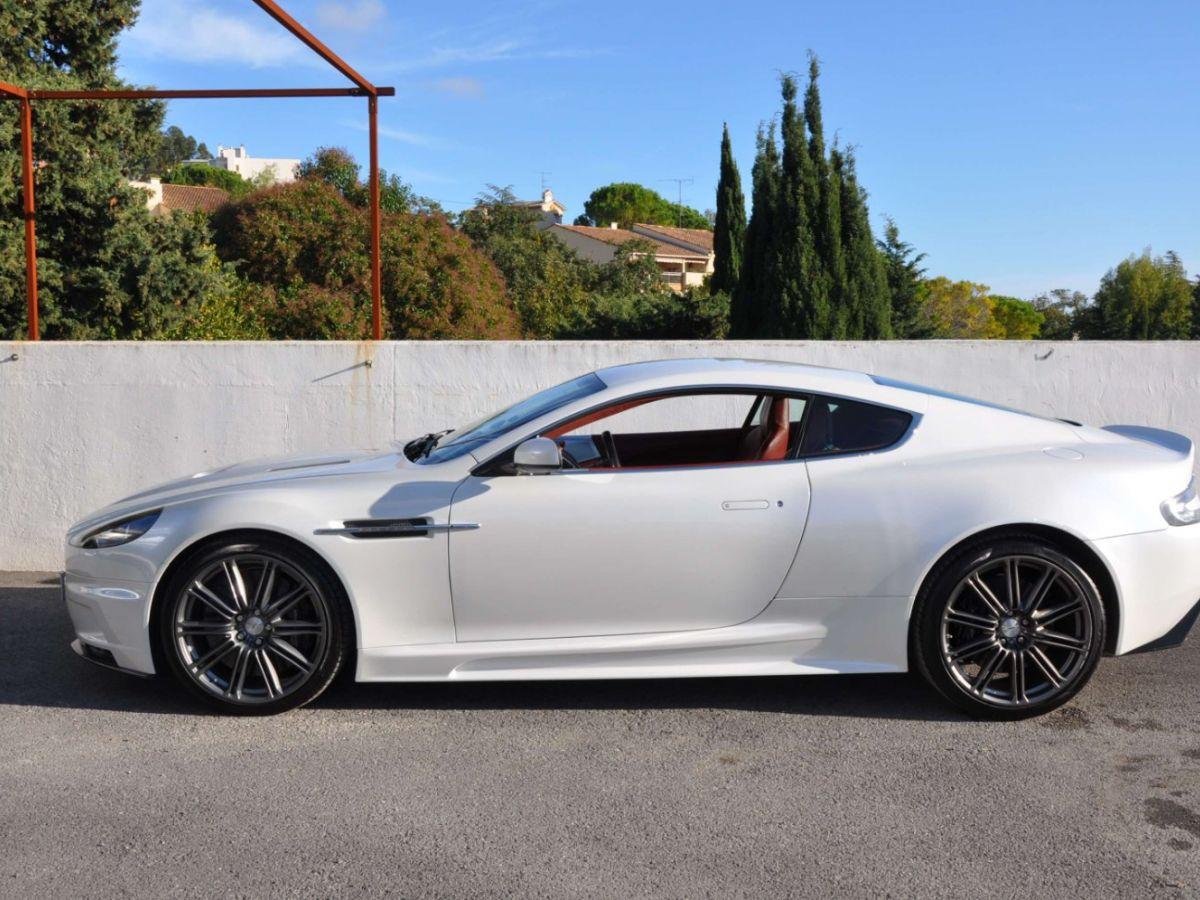 Aston Martin DBS V12 Touchtronic 2+0 Blanc - 4