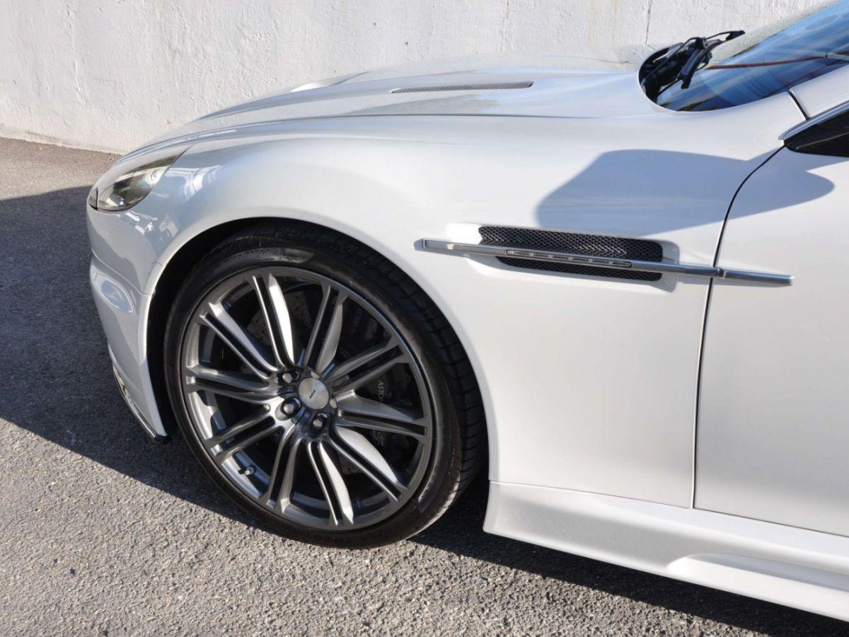 Aston Martin DBS V12 Touchtronic 2+0 Blanc - 8