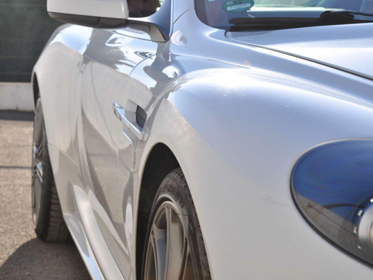 Aston Martin DBS V12 Touchtronic 2+0 Blanc - 16