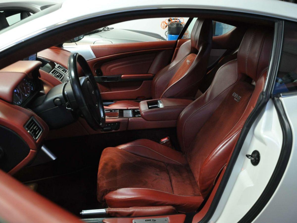 Aston Martin DBS V12 Touchtronic 2+0 Blanc - 19