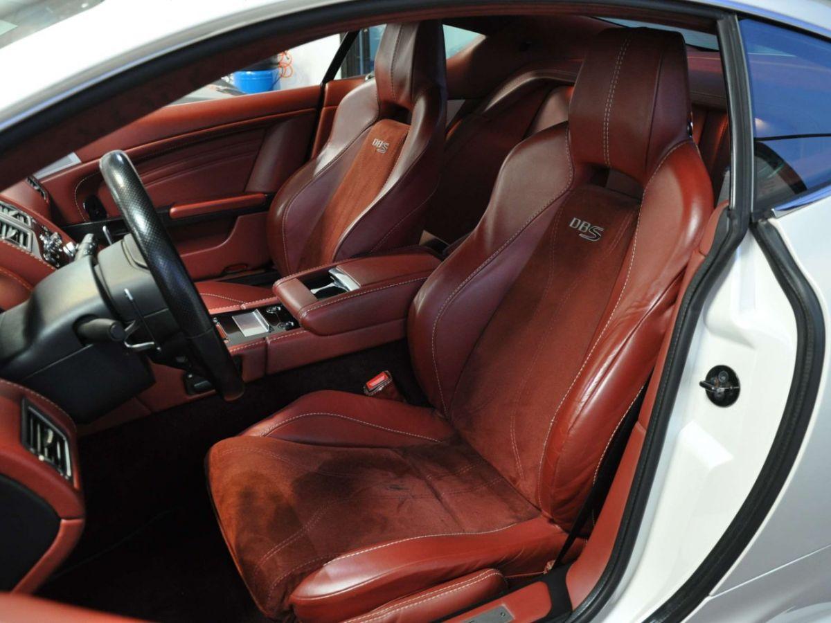 Aston Martin DBS V12 Touchtronic 2+0 Blanc - 20