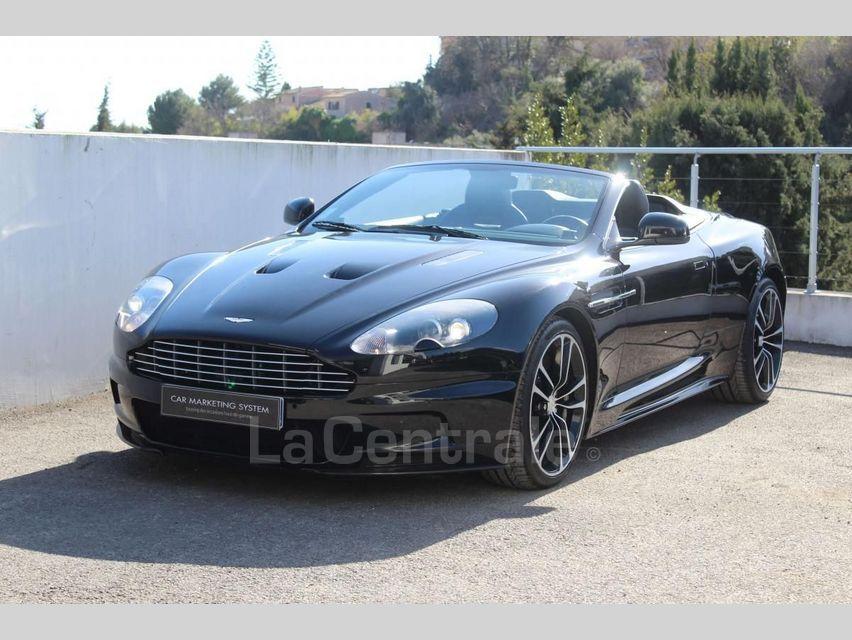Aston Martin DBS Volante 5.9 V12 517 TOUCHTRONIC Noir - 1