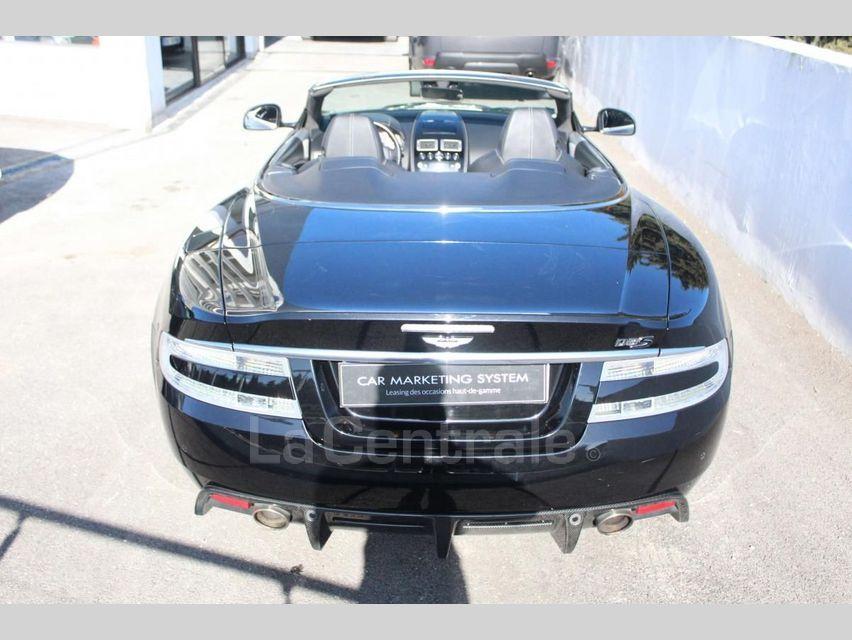Aston Martin DBS Volante 5.9 V12 517 TOUCHTRONIC Noir - 3