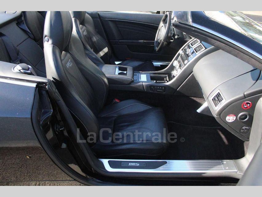 Aston Martin DBS Volante 5.9 V12 517 TOUCHTRONIC Noir - 13