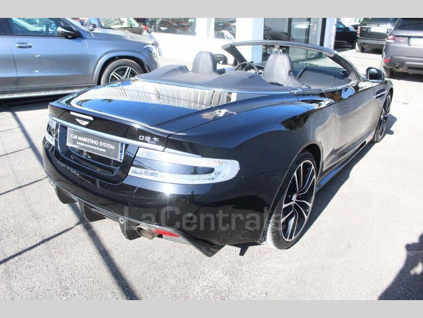 Aston Martin DBS Volante 5.9 V12 517 TOUCHTRONIC Noir - 24