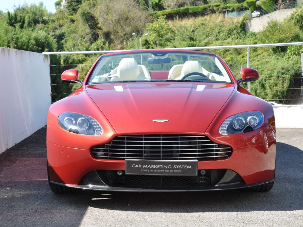 Aston Martin V8 Vantage S Roadster V8 Sportshift Rouge Bordeaux - 2