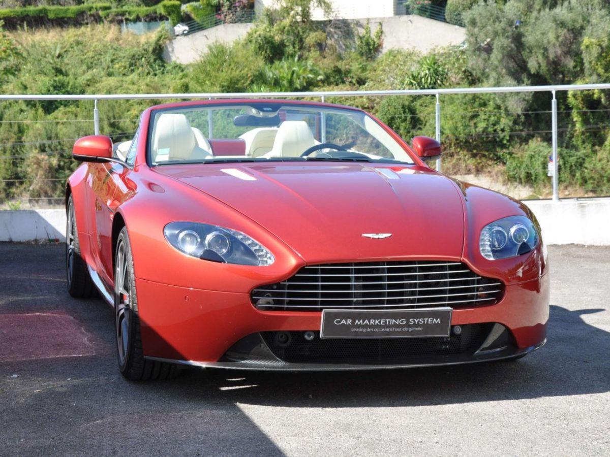 Aston Martin V8 Vantage S Roadster V8 Sportshift Rouge Bordeaux - 3