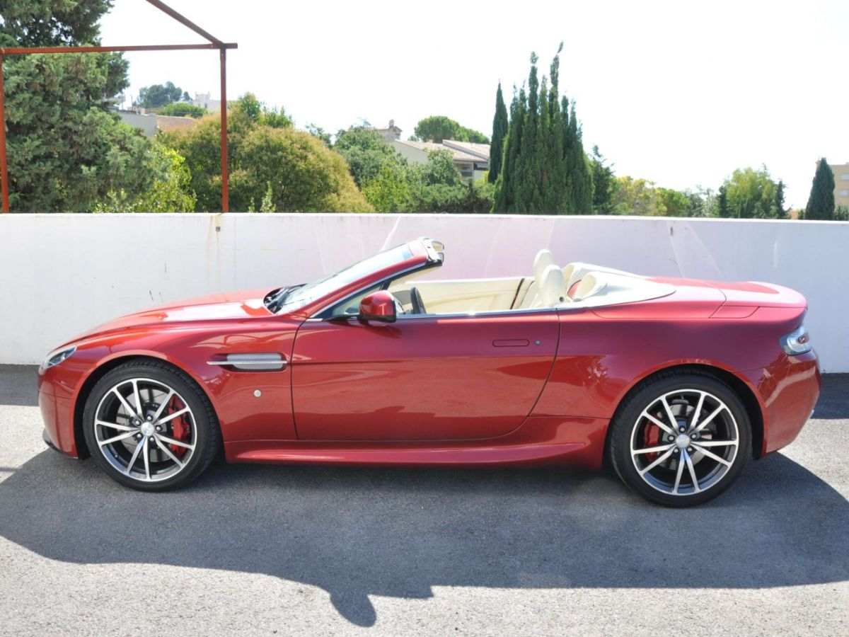 Aston Martin V8 Vantage S Roadster V8 Sportshift Rouge Bordeaux - 5