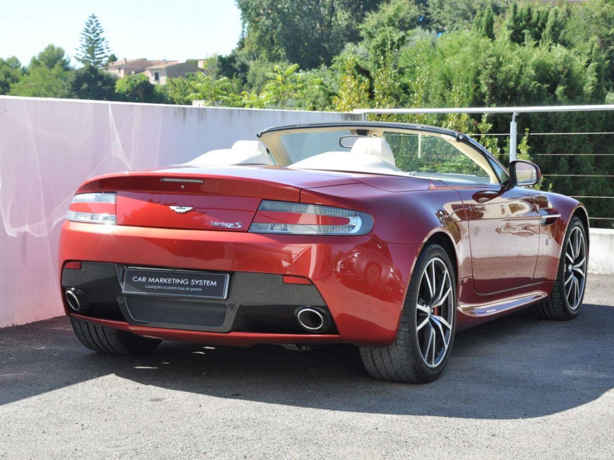 Aston Martin V8 Vantage S Roadster V8 Sportshift Rouge Bordeaux - 6