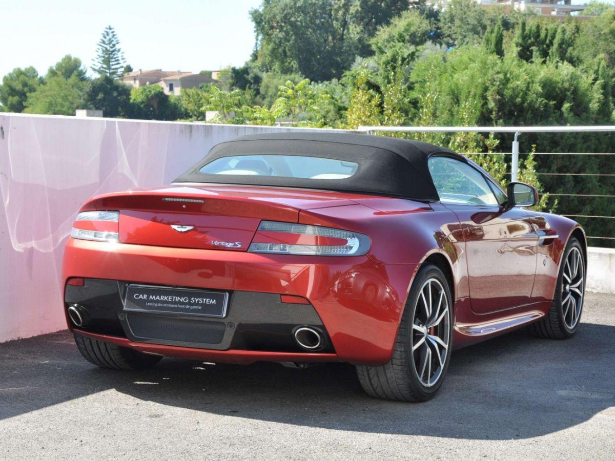 Aston Martin V8 Vantage S Roadster V8 Sportshift Rouge Bordeaux - 9