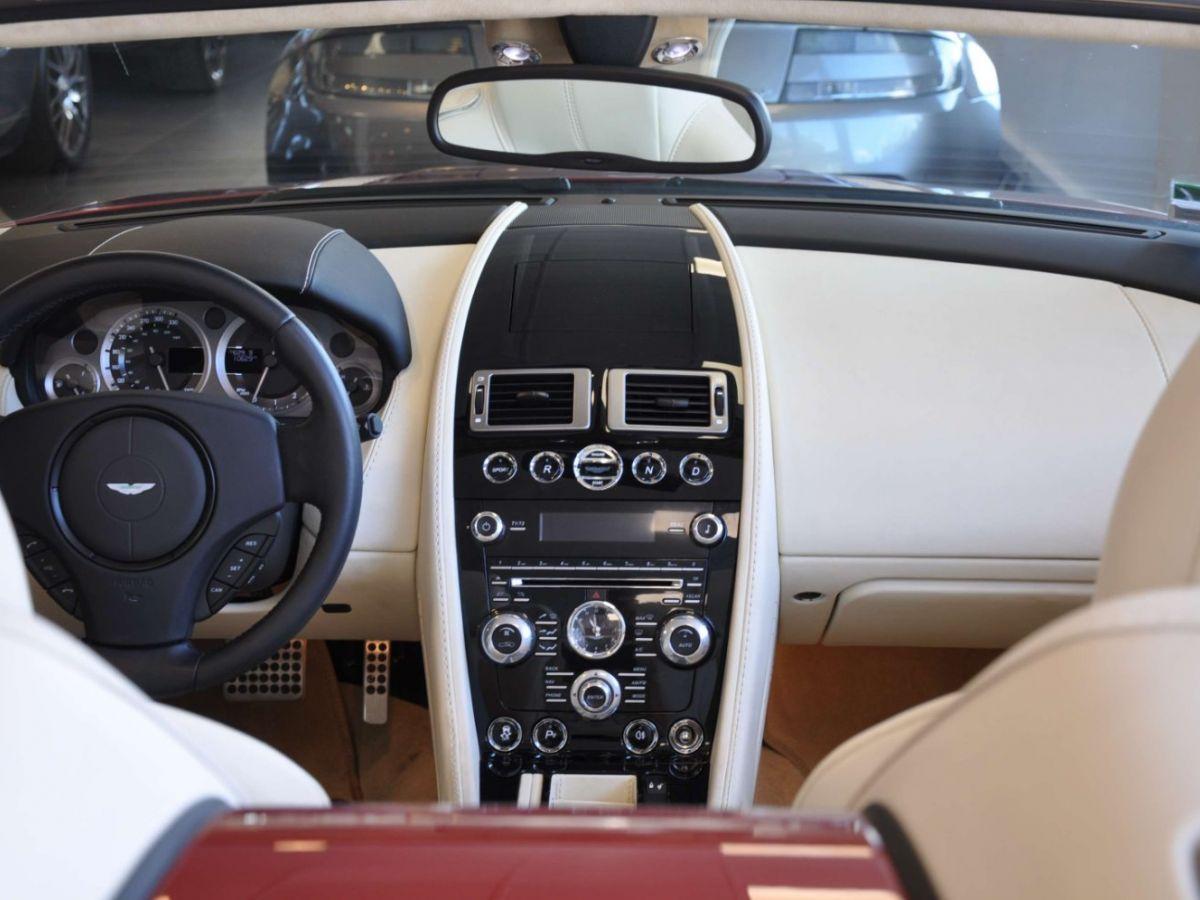 Aston Martin V8 Vantage S Roadster V8 Sportshift Rouge Bordeaux - 14