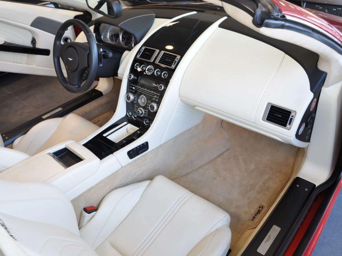 Aston Martin V8 Vantage S Roadster V8 Sportshift Rouge Bordeaux - 15