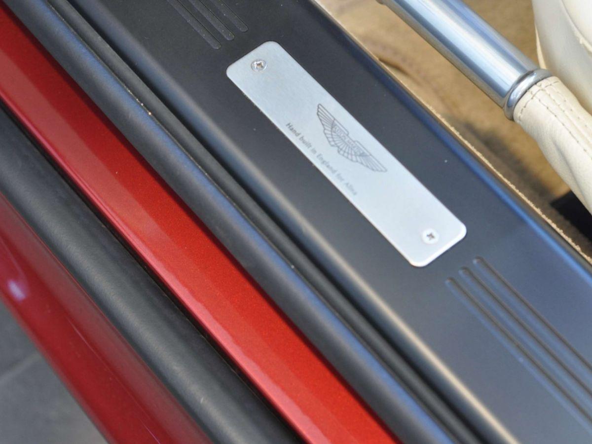 Aston Martin V8 Vantage S Roadster V8 Sportshift Rouge Bordeaux - 21