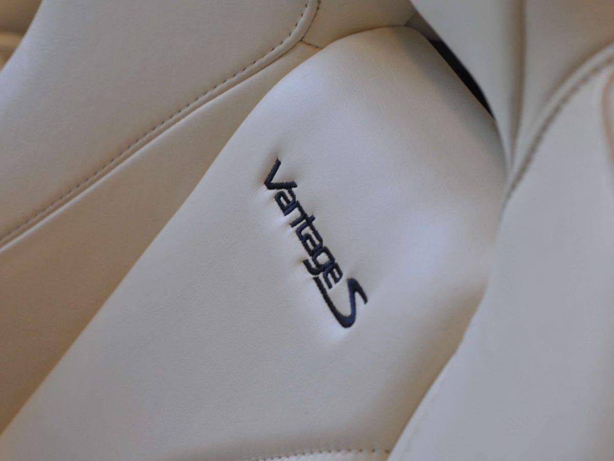 Aston Martin V8 Vantage S Roadster V8 Sportshift Rouge Bordeaux - 26