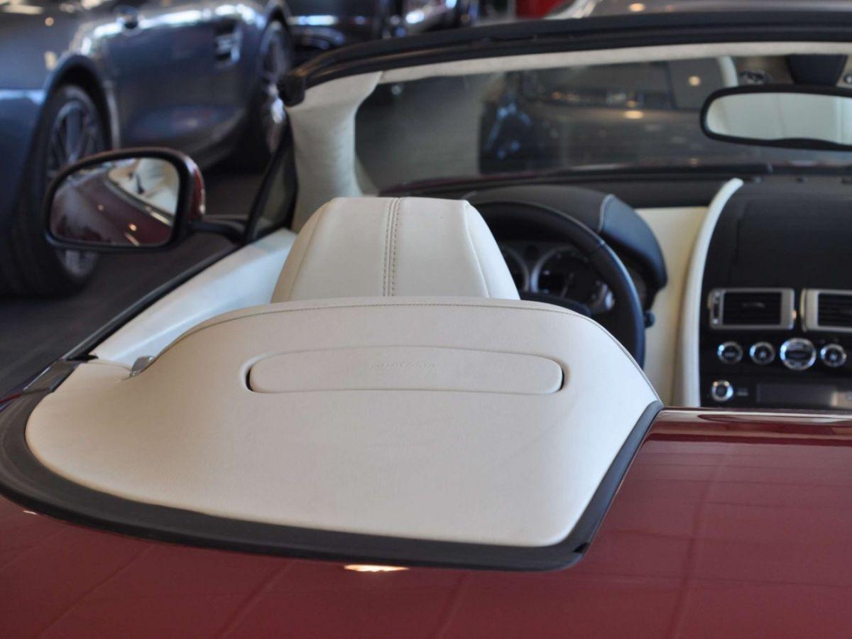 Aston Martin V8 Vantage S Roadster V8 Sportshift Rouge Bordeaux - 33