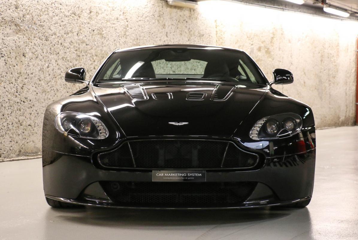 Aston Martin VANTAGE S Coupe V12 Sportshift III Noir Métallisé - 3