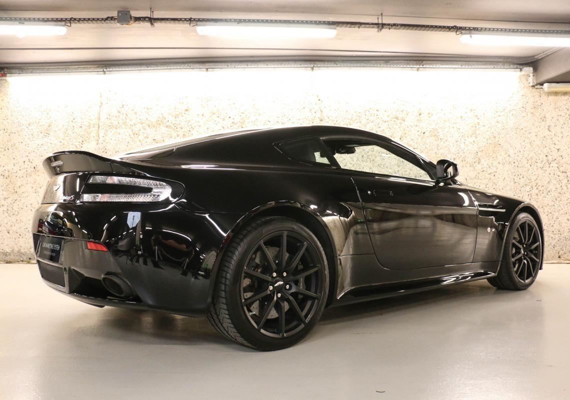 Aston Martin VANTAGE S Coupe V12 Sportshift III Noir Métallisé - 4