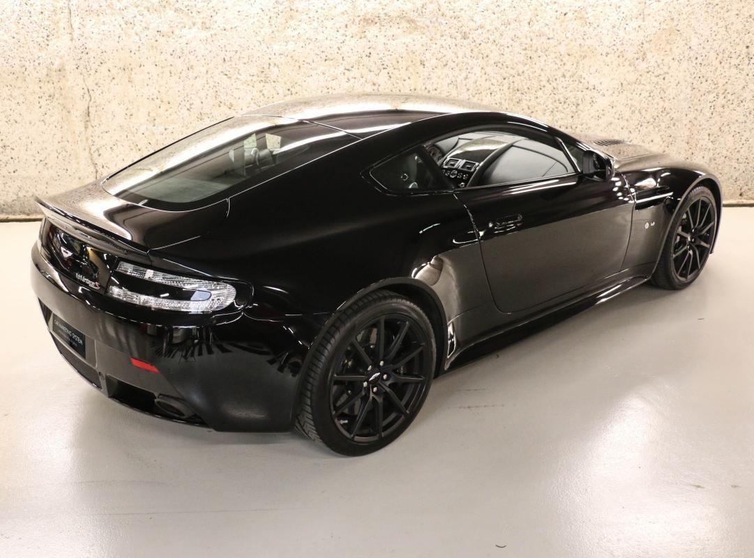 Aston Martin VANTAGE S Coupe V12 Sportshift III Noir Métallisé - 5