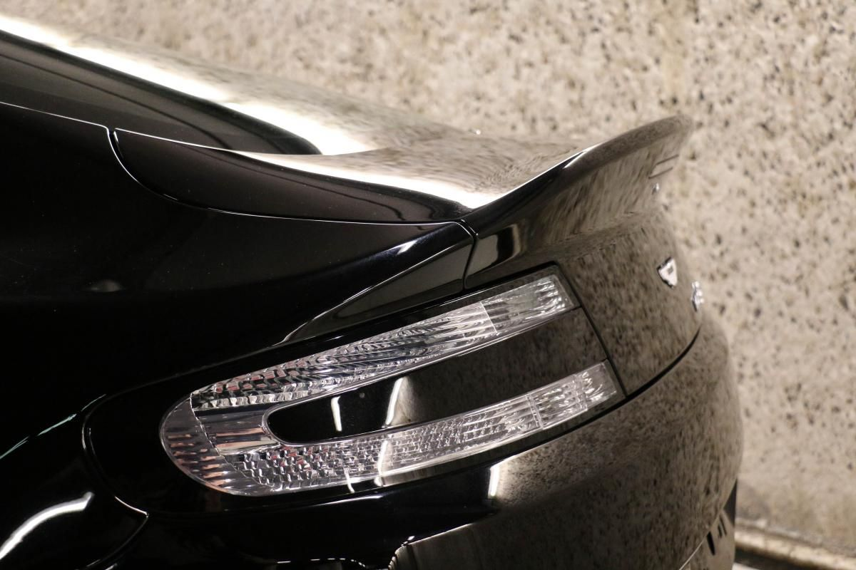 Aston Martin VANTAGE S Coupe V12 Sportshift III Noir Métallisé - 7