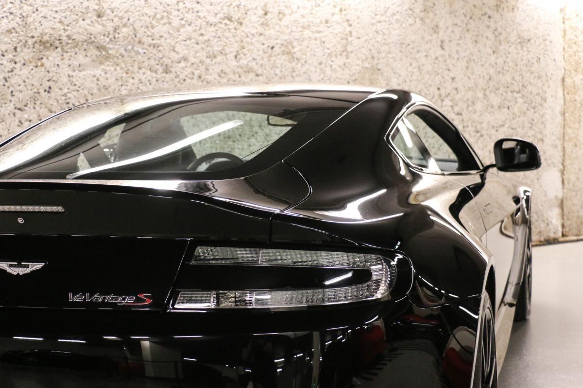 Aston Martin VANTAGE S Coupe V12 Sportshift III Noir Métallisé - 8