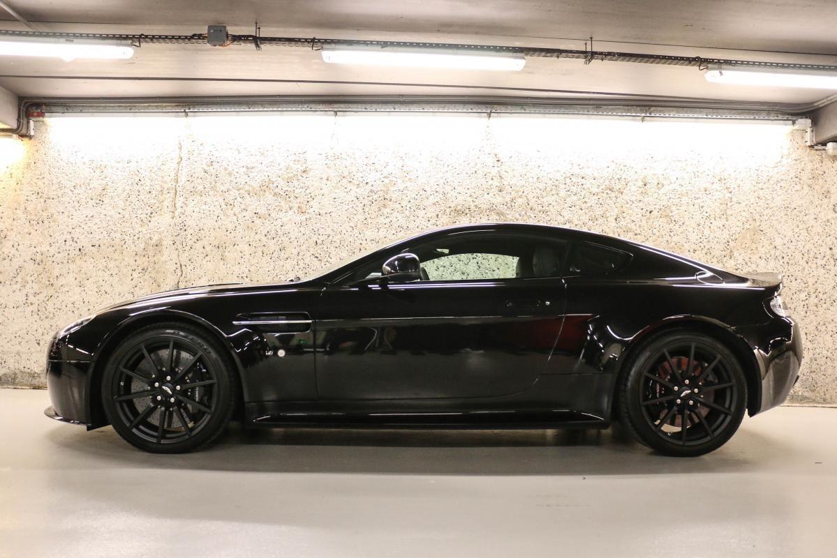 Aston Martin VANTAGE S Coupe V12 Sportshift III Noir Métallisé - 9