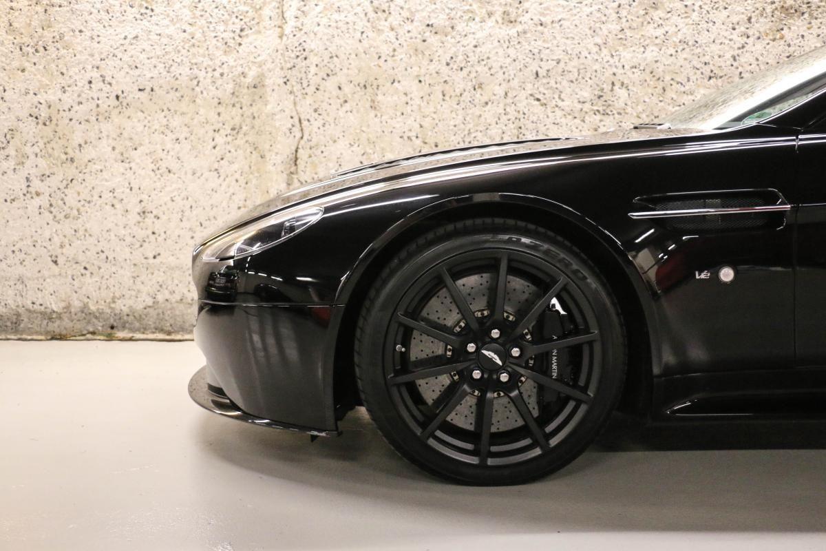 Aston Martin VANTAGE S Coupe V12 Sportshift III Noir Métallisé - 10