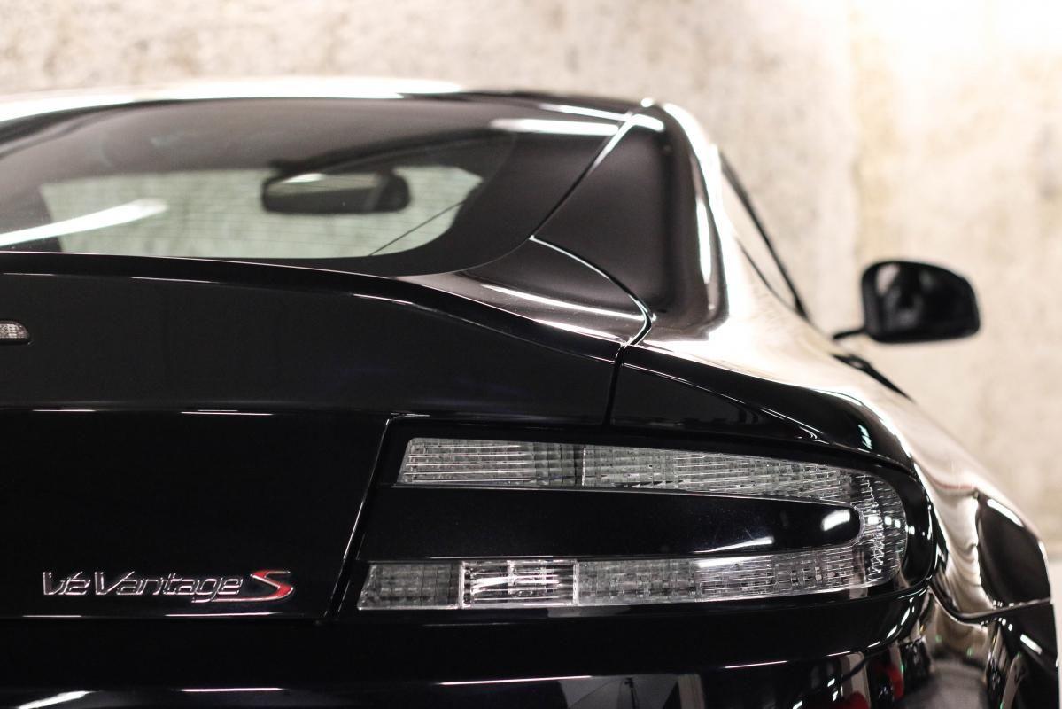 Aston Martin VANTAGE S Coupe V12 Sportshift III Noir Métallisé - 22