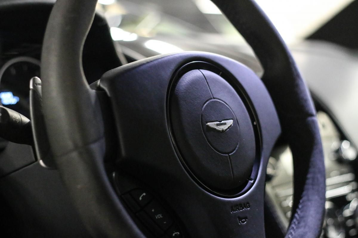 Aston Martin VANTAGE S Coupe V12 Sportshift III Noir Métallisé - 24