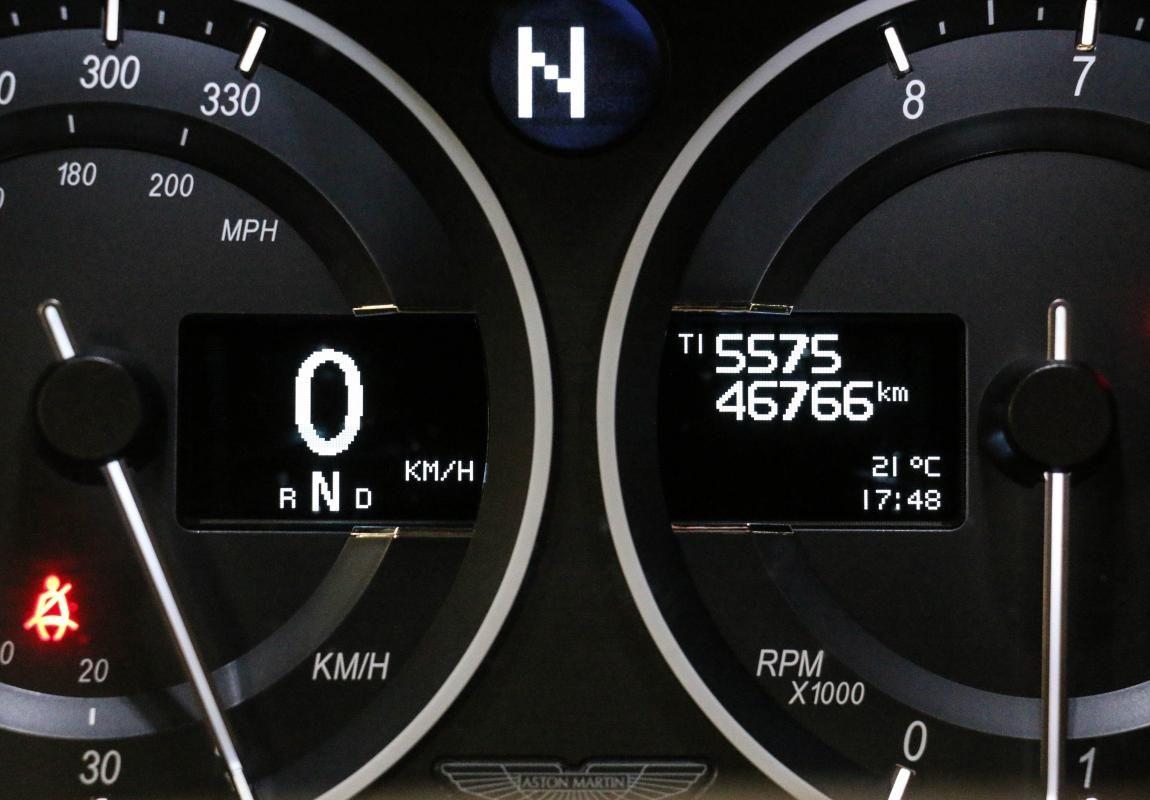 Aston Martin VANTAGE S Coupe V12 Sportshift III Noir Métallisé - 36