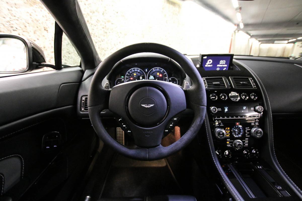 Aston Martin VANTAGE S Coupe V12 Sportshift III Noir Métallisé - 40