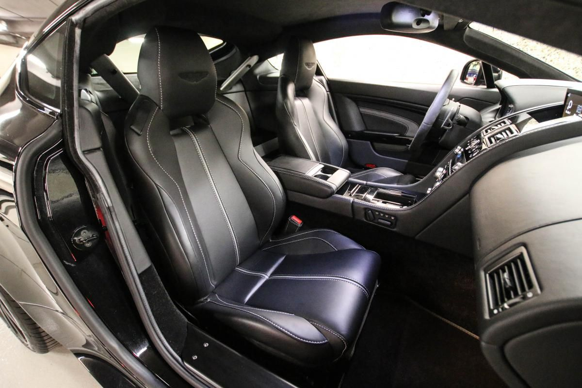 Aston Martin VANTAGE S Coupe V12 Sportshift III Noir Métallisé - 41