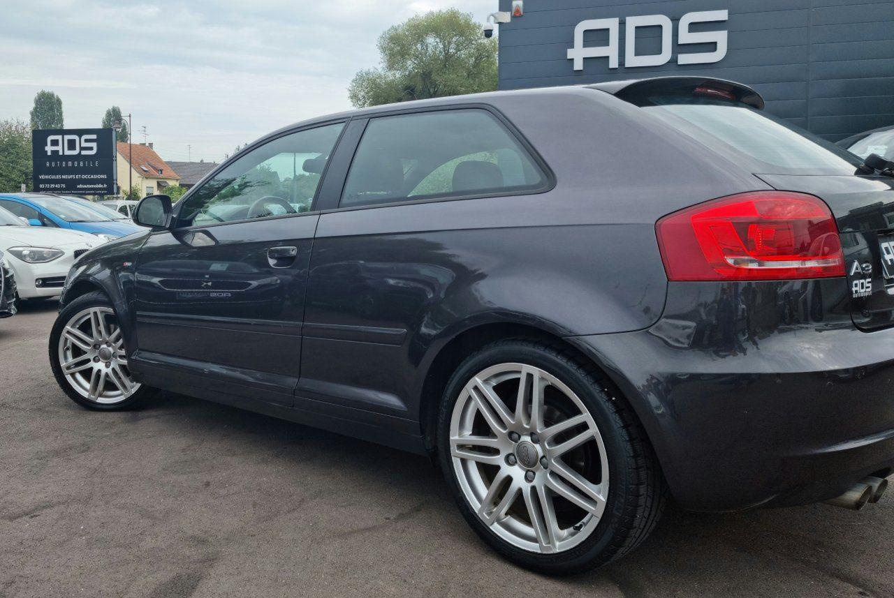 Audi A3 II 2.0 TDI 140ch DPF S line Plus S tronic 6 3p ANTHRACITE - 4