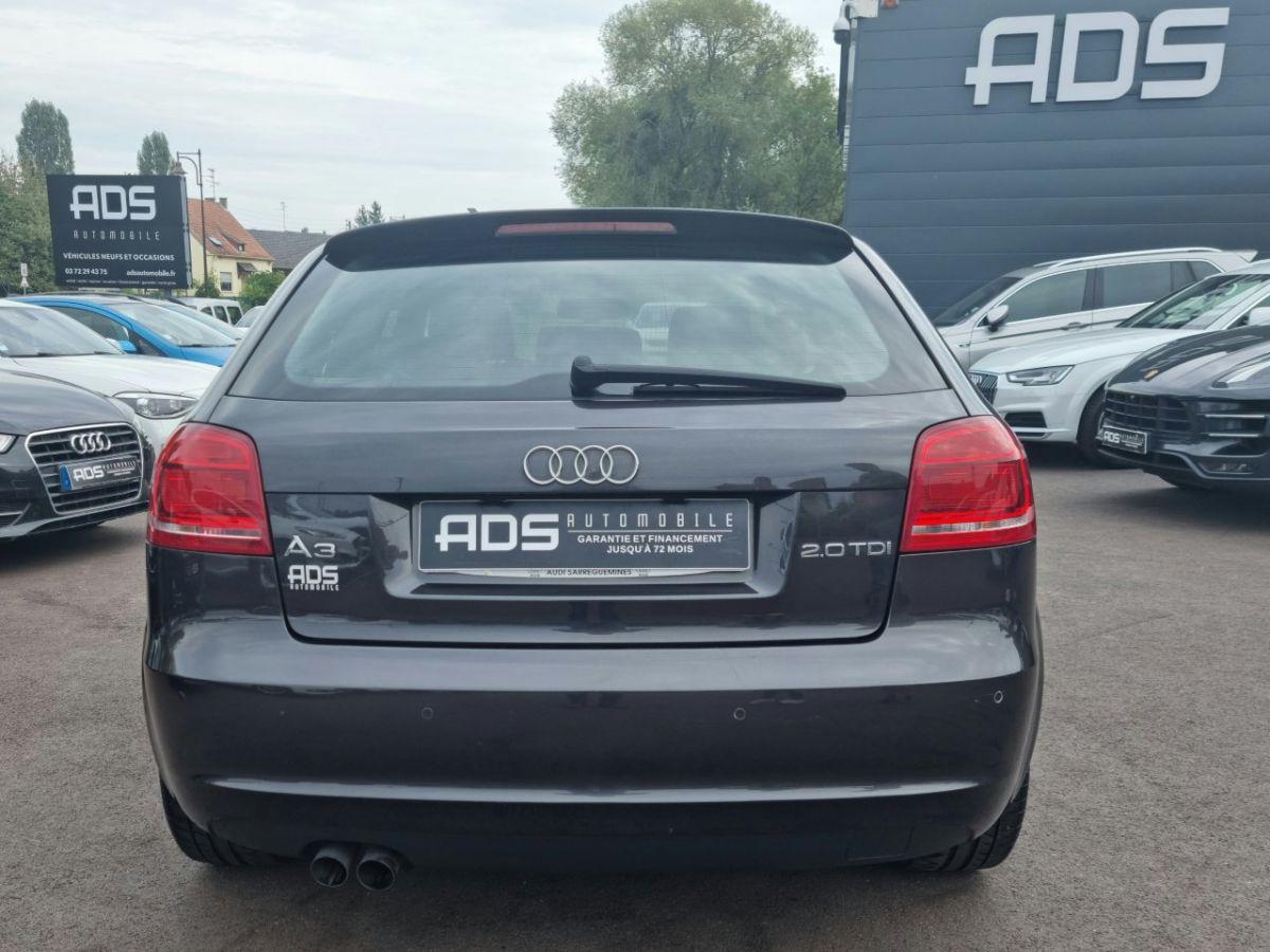 Audi A3 II 2.0 TDI 140ch DPF S line Plus S tronic 6 3p ANTHRACITE - 8