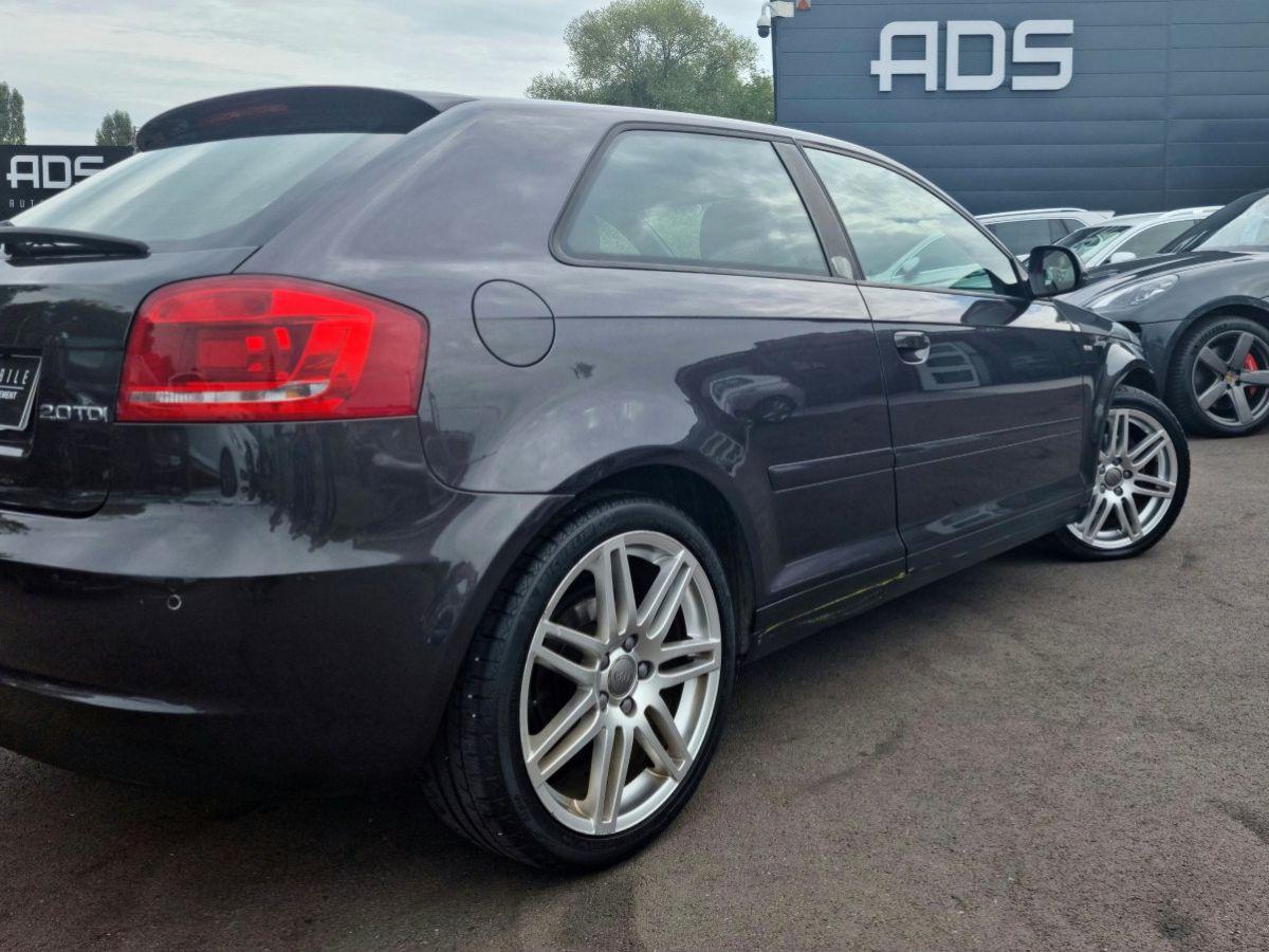 Audi A3 II 2.0 TDI 140ch DPF S line Plus S tronic 6 3p ANTHRACITE - 10