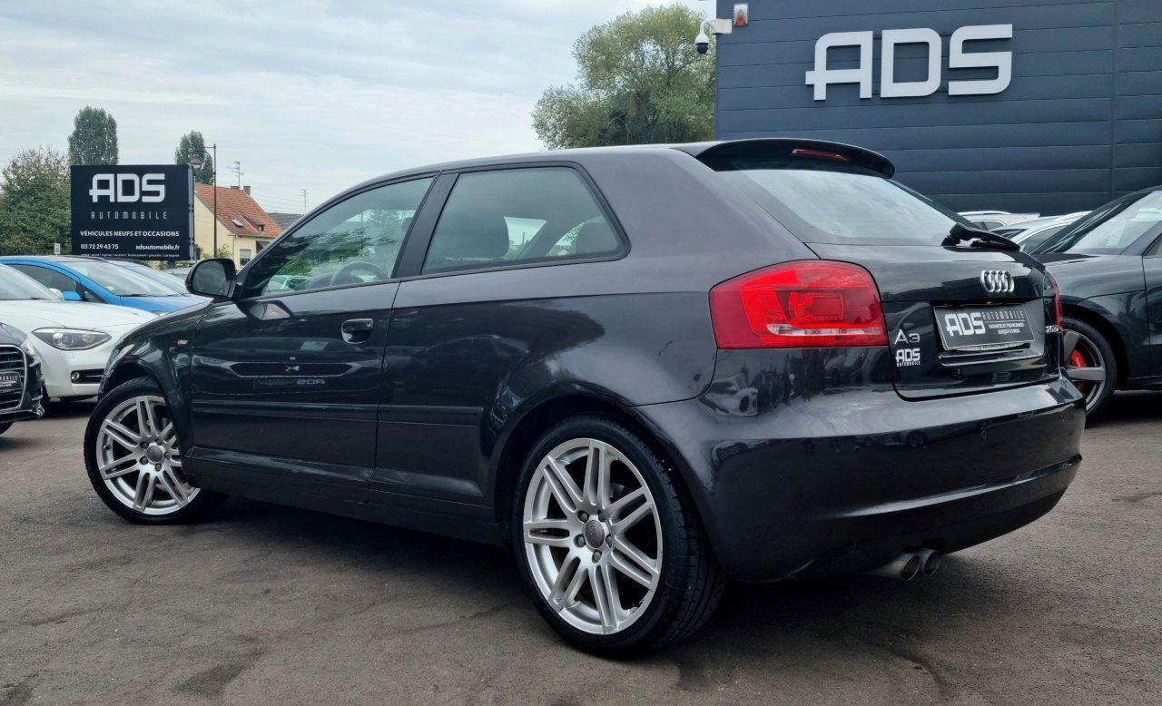 Audi A3 II 2.0 TDI 140ch DPF S line Plus S tronic 6 3p ANTHRACITE - 11