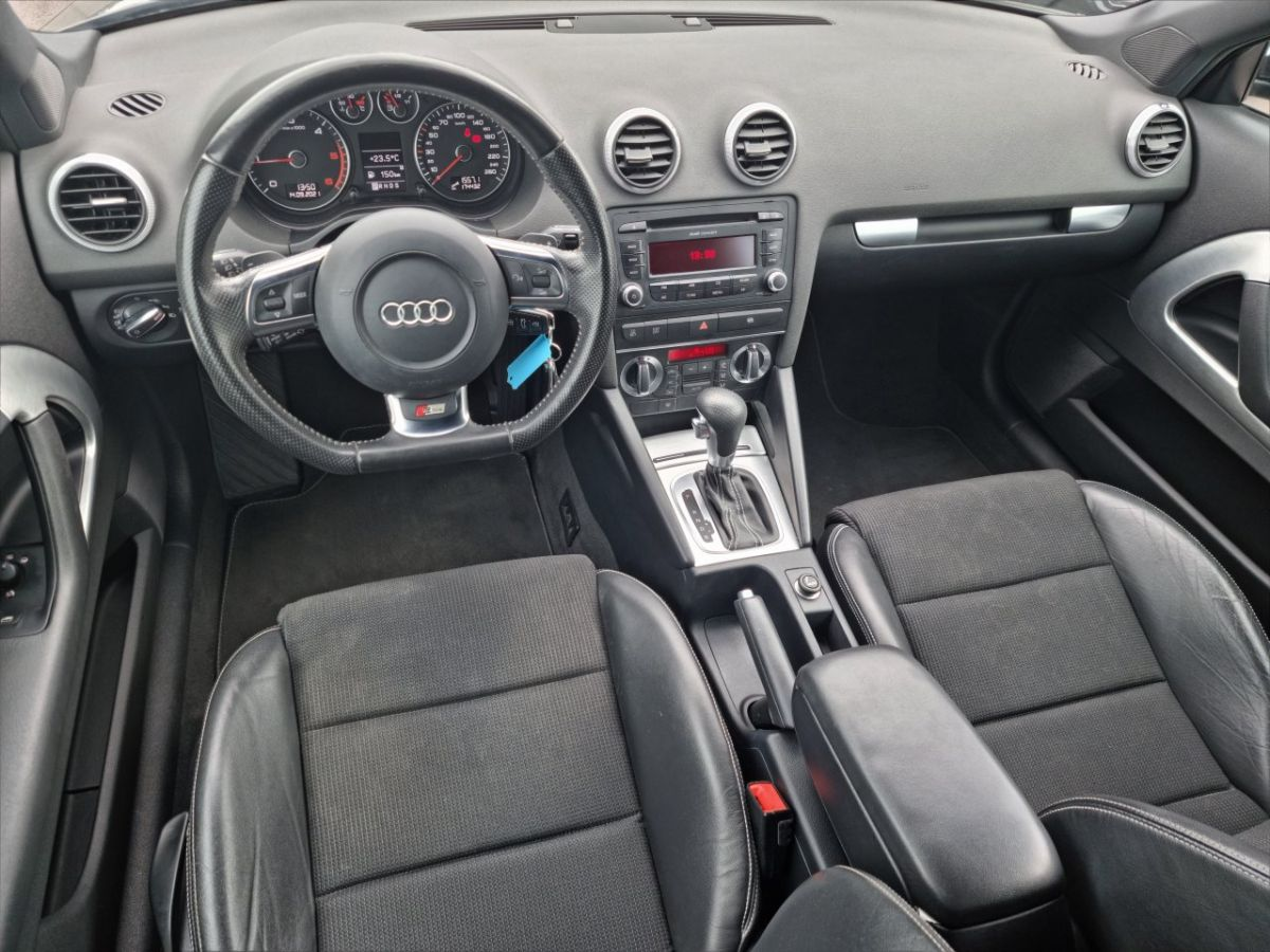 Audi A3 II 2.0 TDI 140ch DPF S line Plus S tronic 6 3p ANTHRACITE - 21