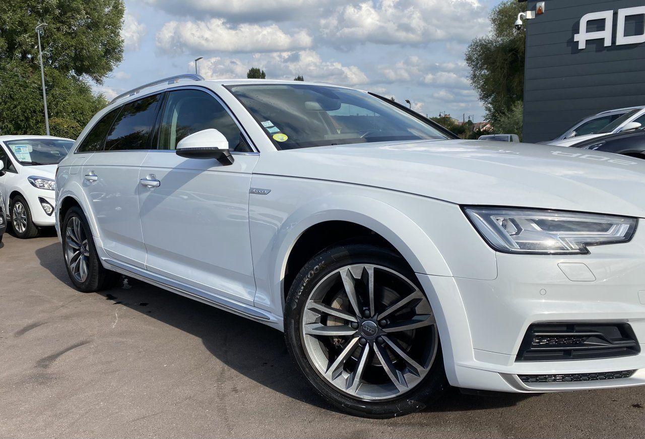 Audi A4 Allroad 2.0 TDI 190ch Design Luxe quattro Str BLANC - 5