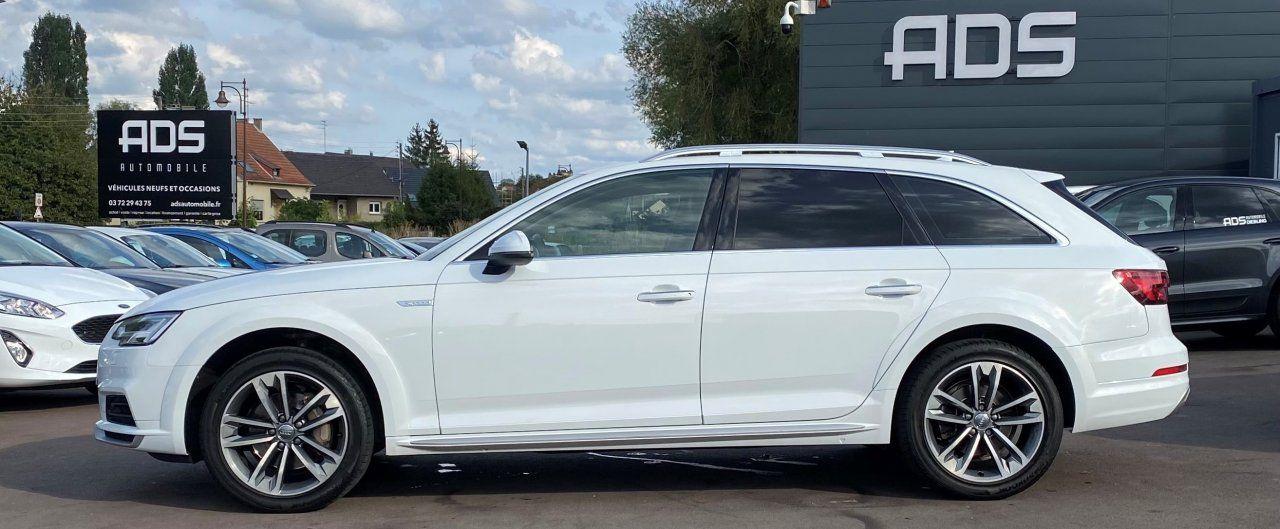Audi A4 Allroad 2.0 TDI 190ch Design Luxe quattro Str BLANC - 6